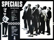 thumbnail link to original poster The Specials first album UK 2 Tone