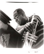 thumbnail link to original Burt Goldblatt photograph Louis Armstrong