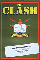 thumbnail link to original Clash tour poster