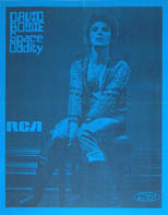 thumbnail link to original David Bowie 1972 Canadian Space Oddity radio chart poster.