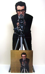 thumbnail link to original 1978 Elvis Costello standee This Years Model