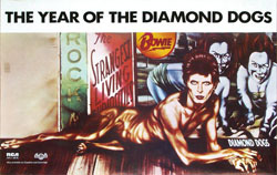 thumbnail link to original David Bowie Diamond Dogs poster