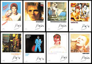 thumbnail link to original David Bowie EMI withdrawn 1990 promo poster set .