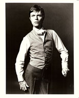 thumbnail link to original Ron Scherl portrait photo Bowie the Elephant Man.