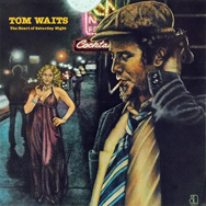 original Arista promo poster for Tom Waits The Heart of Saturday Night