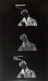 thumbnail link to original David Bowie Helden single master sleeve celluloid.