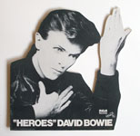 thumbnail link to original David Bowie RCA Heroes in-store card display.
