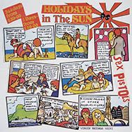 thumb link image to Sex Pistols Holidays in the Sun original withdrawn Belgian tourist poster