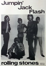 thumbnail link to original Decca poster Jumpin' Jack Flash The Rolling Stones