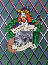 original 1975 Chrysalis Records Jehtro Tull Minstrel in the Gallery promo poster
