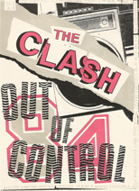 thumbnail link to original flyer The Clash Out of Control