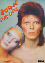 thumbnail link to original David Bowie RCA 1973 poster Pin Ups.