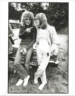 thumbnail link to original Simon Fowler photo 1979 Robert Plant and John Paul Jones