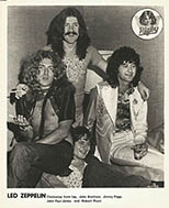 thumbnail link to original Led Zeppelin press photo