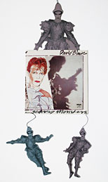 thumbnail link to original David Bowie RCA Scary Monsters in-store mobile.