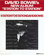 thumbnail link to original David Bowie Station To Station RCA poster.