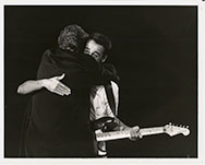 thumbnail link to original 1987 press photograph Wham! Aids Day Benefit concert Wembley Arena 1 April 1987