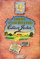 thumbnail link to original 1973 DMJ promo poster Goodbye Yellow Brick Road