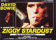 thumbnail link to original David Bowie Ziggy Stardust and the Spiders From Mars 1983 Italian film front of house posters.