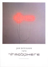 thumbnail link to original Joy Division Factory Records poster Atmosphere.
