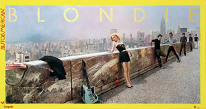 thumbnail link to original Blondie poster Autoamerican