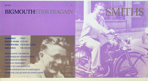 thumbnail link to original The Smiths Bigmouth Strikes Again Rough Trade Records sleeve proof.