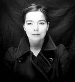 Bjork, original 1993 Matthew Lewis photograph, archival 20x24 inch print, one of ten, signed by Bjork.