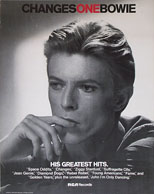 thumbnail link to original David Bowie Changes One poster.