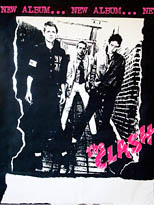 thumbnail link to original 1977 The Clash White Riot tour poster