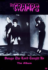 thumbnail link to original 1980 Illegal Records promo poster The Cramps Songs The Lord Taught Us