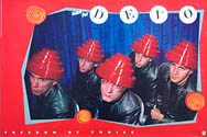 thumbnail link to original 1980 Warners promo poster Devo Freedom of Choice