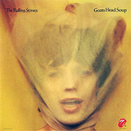thumbnail link to original 1973 Rolling Stones promo poster Goat's Head Soup, veiled Jagger image