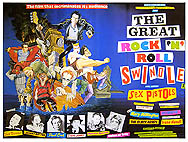 Original 1980 Quad film poster Sex Pistols The Great Rock'n'Roll Swindle