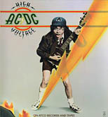 thumbnail link to original 1976 Atco poster AC/DC High Voltage
