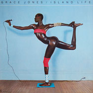 original Grace Jones Island poster Island Life