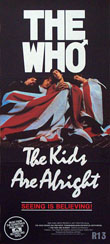 thumbnail link to original 1978 Australian Daybill poster The Who The Kids Are Alright