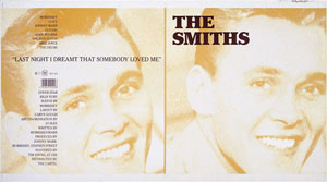 thumbnail link to original 1987 Rough Trade 12 inch sleeve proof The Smiths Last Night I Dreamt.