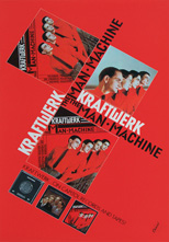 thumbnail link to original 1978 promo poster Kraftwerk Man Machine
