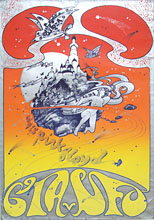 Original July 28 1967 promo poster Pink Floyd at CIA-UFO Club