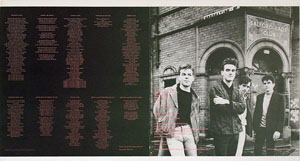 thumbnail link to original The Smiths The Queen is Dead Rough Trade Records sleeve proof.