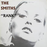thumbnail link to original 1988 US card in-store promo display The Smiths Rank.