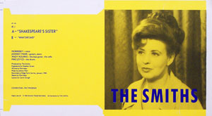 thumbnail link to original The Smiths Sheila Takes A Bow Rough Trade Records sleeve proof.