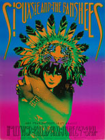 thumbnail link to original 1986 Victor Moscoso Siouxsie and the Banshees US tour poster, Hollywood Palladium