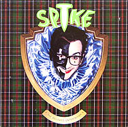 thumbnail link to original 1989 U.S. Elvis Costello Spike in-store card stock poster