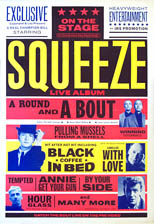thumbnail link to original Squeeze - A Round and A Bout 40x60 inch promo poster