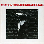 thumbnail link to original David Bowie RCA Station to Station in-store counter display.