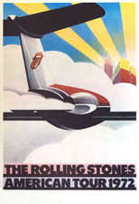 thumbnail link to original Rolling Stones 1972 American tour poster