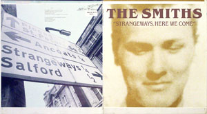 thumbnail link to original The Smiths Strangeways Here We Come Rough Trade Records sleeve proof.