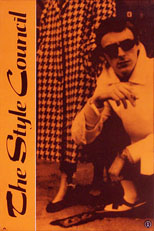 thumbnail link to original Polydor promo poster The Style Council, 1983