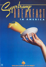 Original 1979 Breakfast in America (the single) A&M promo poster